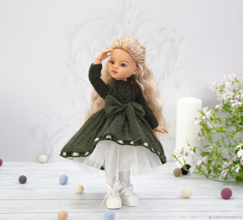 """Одежда для Паолы. Платье """"Полынь"""", Одежда для кукол, Симферополь,  Фото №1"""
