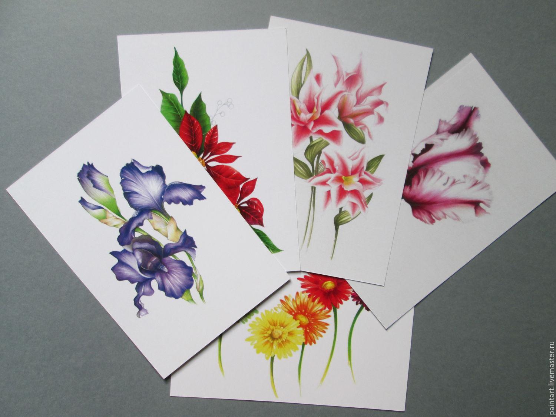 Рисунки открыток
