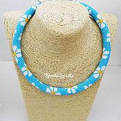 Украшения handmade. Livemaster - original item Necklace harness beaded