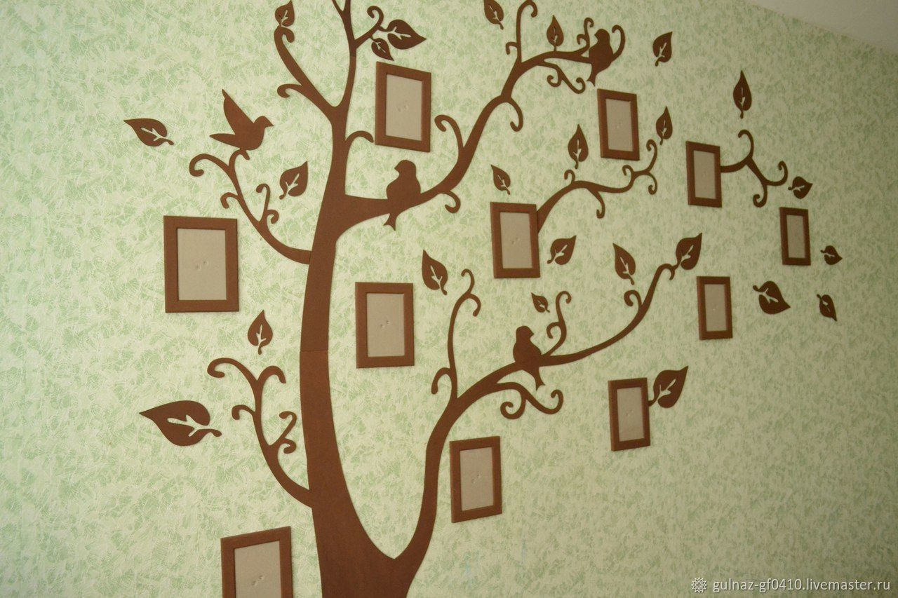 Family tree wall murals shop online on Livemaster with shipping