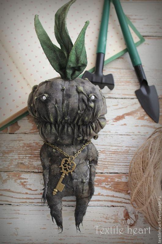 Куклы и игрушки ручной работы. Ярмарка Мастеров - ручная работа. Купить Mandragora.... Handmade. Тёмно-зелёный, волшебный, монстр