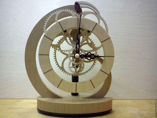 Часы для дома ручной работы. Ярмарка Мастеров - ручная работа. Купить Часы ,, Тукан ,,. Handmade. Золотой, дерево, часы