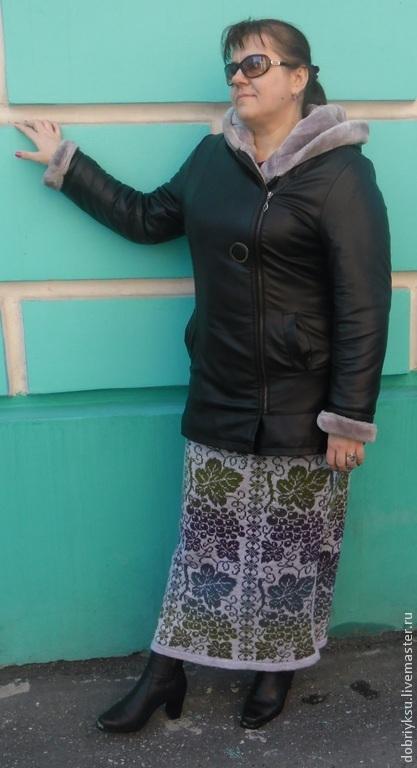 "Юбка ""Виноградная лоза"", Юбки, Мурманск, Фото №1"