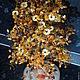 Элементы интерьера ручной работы. Ярмарка Мастеров - ручная работа. Купить Дерево из янтаря. Handmade. Оранжевый, янтарь натуральный