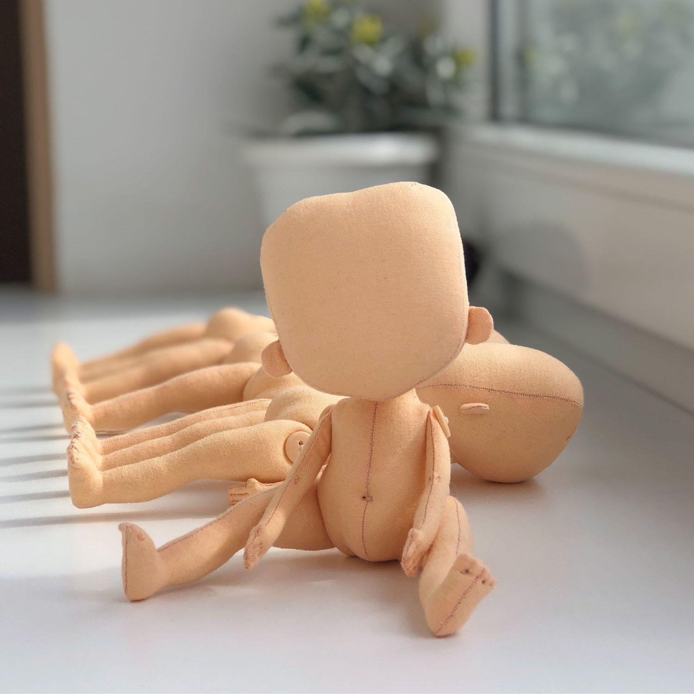 Заготовка тела текстильной куклы, Куклы и пупсы, Калининград,  Фото №1
