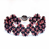 Украшения handmade. Livemaster - original item Beaded Bracelet SDB1450351. Handmade.