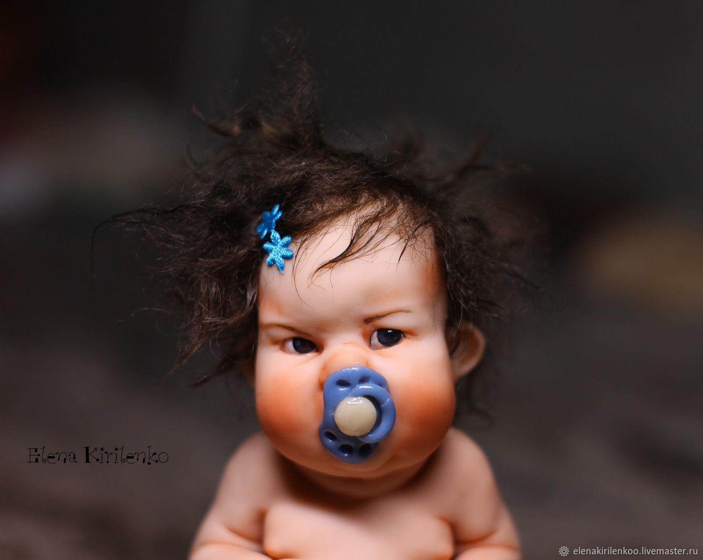 """Коллекционные куклы ручной работы. Ярмарка Мастеров - ручная работа. Купить """"Доброе утро"""". Handmade. Соска"""