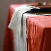 Скатерти ручной работы. Ярмарка Мастеров - ручная работа Скатерть прямоугольная, коллекция Терракот. Handmade.