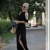 Одежда ручной работы. Ярмарка Мастеров - ручная работа Платье летнее из штапеля Кокетка. Handmade.