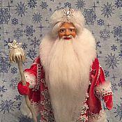 Куклы и игрушки ручной работы. Ярмарка Мастеров - ручная работа Дед Мороз (изготовлен на заказ). Handmade.