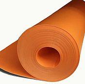 Ткани ручной работы. Ярмарка Мастеров - ручная работа Изолон цветной оранжевый 3 мм. Handmade.