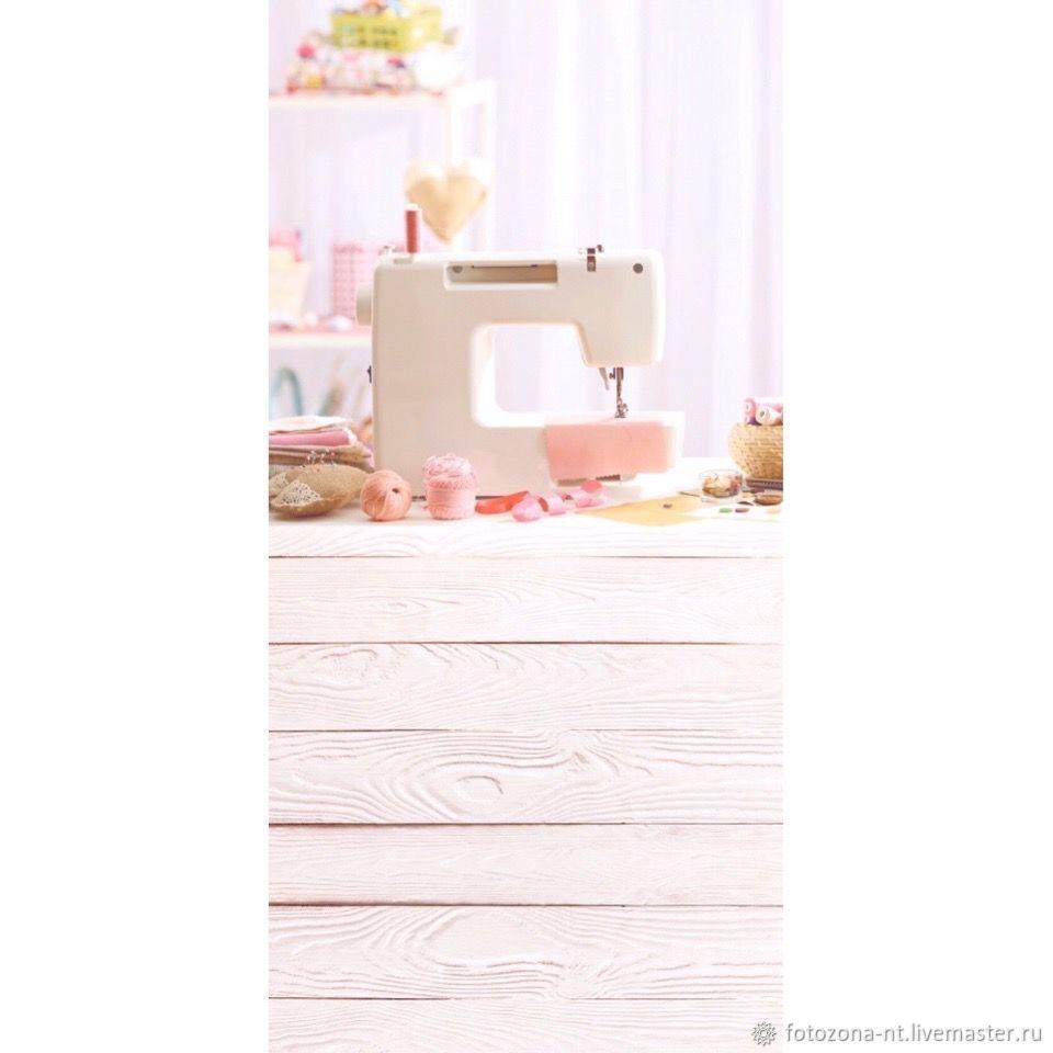 "Фотофон ""Рабочий стол со швейной машинкой"" #210, Атрибутика, Москва,  Фото №1"