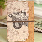 """Канцелярские товары ручной работы. Ярмарка Мастеров - ручная работа Блокнот """"Фотоаппарат"""". Handmade."""