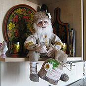 Куклы и игрушки ручной работы. Ярмарка Мастеров - ручная работа Кукла Домовой с добром.. Handmade.