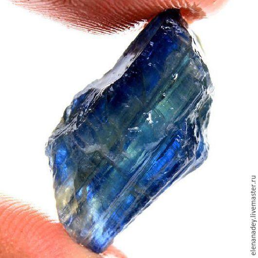 Для украшений ручной работы. Ярмарка Мастеров - ручная работа. Купить Кианит кристалл. Handmade. Синий, кристалл, драгоценный камень