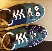 """Обувь ручной работы. Ярмарка Мастеров - ручная работа Тапки """"Бендер"""". Handmade."""