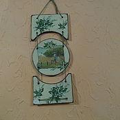Для дома и интерьера ручной работы. Ярмарка Мастеров - ручная работа панно -Ландыши. Handmade.