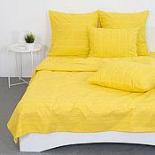 Для дома и интерьера handmade. Livemaster - original item Solid cotton bed linen. Handmade.