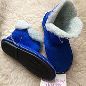 Обувь ручной работы handmade. Livemaster - original item Women`s ugg boots made of sheepskin.Solid sole. Handmade.