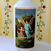 Сувениры и подарки handmade. Livemaster - original item Everything for home Candle Guardian angel. Handmade.