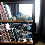 Для дома и интерьера handmade. Livemaster - original item Thai garland of thread balls, glowing sky lanterns. Handmade.