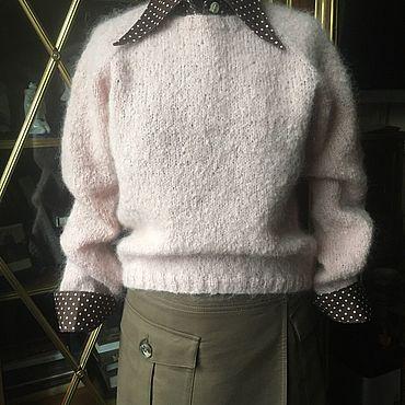 Одежда ручной работы. Ярмарка Мастеров - ручная работа Джемпер Розовый Алабай. Handmade.