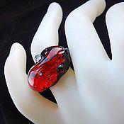 Украшения handmade. Livemaster - original item Ring handmade from silver of 999 tests. Fiery tales. Handmade.