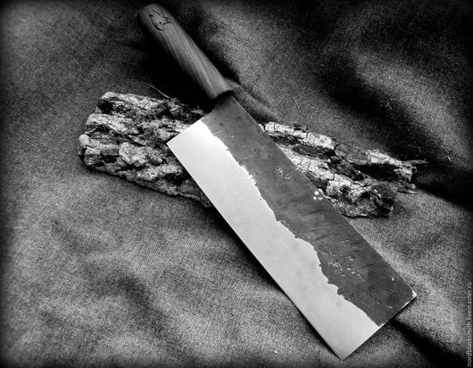Кухня ручной работы. Ярмарка Мастеров - ручная работа. Купить Кухонный нож по мотивам ЦайДао. Handmade. Кухонная утварь