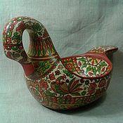 Русский стиль handmade. Livemaster - original item Bucket Swan large. Handmade.