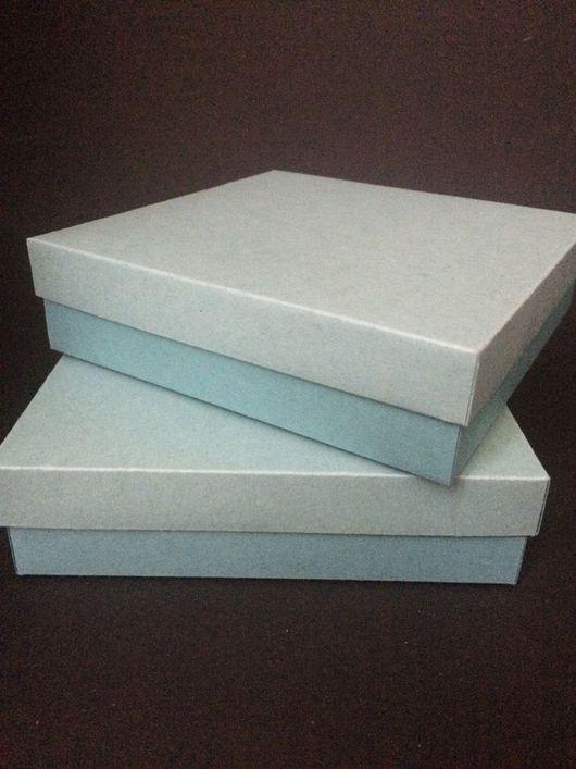 Упаковка ручной работы. Ярмарка Мастеров - ручная работа. Купить Коробка 15-15 в наличии 2 штуки. Handmade. Разноцветный