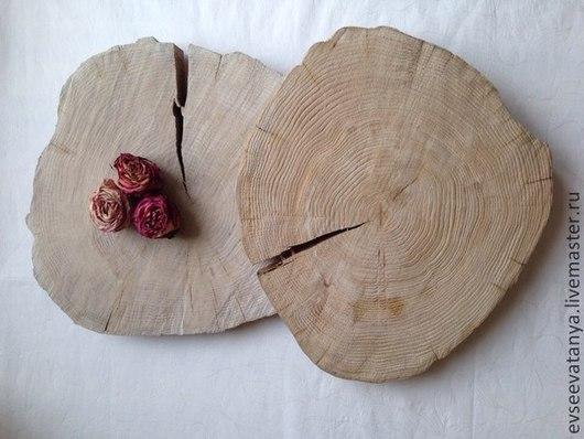 Другие виды рукоделия ручной работы. Ярмарка Мастеров - ручная работа. Купить Спил дерева. Handmade. Бежевый, спил, фото