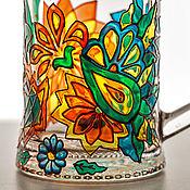 """Посуда ручной работы. Ярмарка Мастеров - ручная работа Пивная кружка """"Цветное настроение"""". Handmade."""