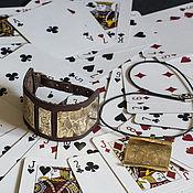 Украшения ручной работы. Ярмарка Мастеров - ручная работа Браслет Алиса в стране чудес (браслет и кулон). Handmade.
