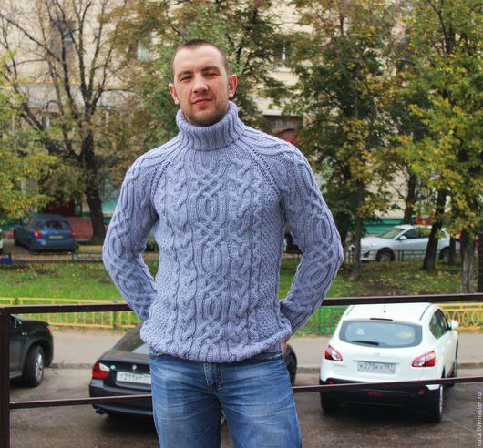 """Для мужчин, ручной работы. Ярмарка Мастеров - ручная работа. Купить свитер """"Fishermen"""". Handmade. Свитер, авторская ручная работа"""