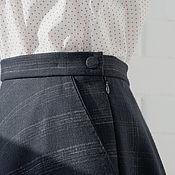 Одежда handmade. Livemaster - original item Skirt of wool. Handmade.