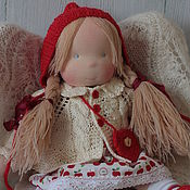 Вальдорфские куклы и звери ручной работы. Ярмарка Мастеров - ручная работа Вальдорфская кукла Ханна 37 см. Handmade.