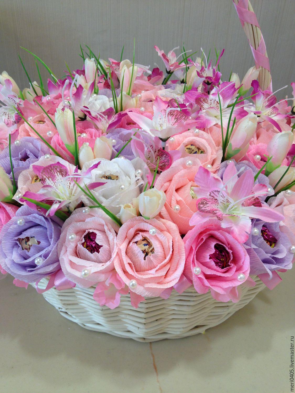 Купить букет из конфет Свадьба - розовый, букет из конфет, Букеты из конфет, букет из конфет москва