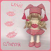 Куклы и игрушки ручной работы. Ярмарка Мастеров - ручная работа Куколка Kiss. Handmade.