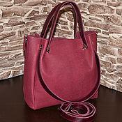 Сумки и аксессуары handmade. Livemaster - original item Model 132 Classic bag: Bag leather women`s Handbag made of soft. Handmade.