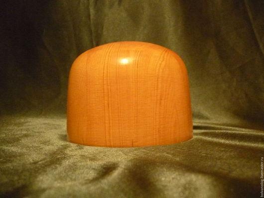 Манекены ручной работы. Ярмарка Мастеров - ручная работа. Купить ТУЛЬЯ  СКРУГЛЕННАЯ. Handmade. Оранжевый, фетр, дерево, лак водостойкий