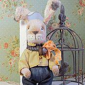 Куклы и игрушки ручной работы. Ярмарка Мастеров - ручная работа Кролик тедди   Bunny. Handmade.