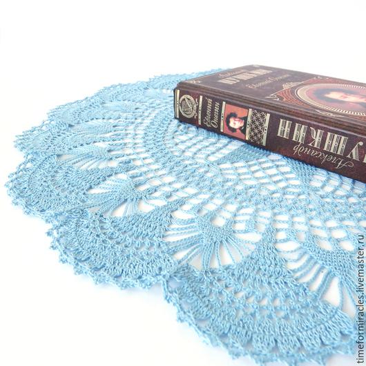 салфетка вязаная, салфетка для интерьера, вязаная салфетка купить, салфетка для декора, круглая салфетка
