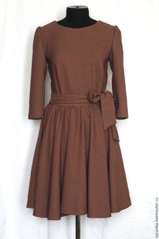 Платья ручной работы. Ярмарка Мастеров - ручная работа. Купить Платье Трикотажное. Handmade. Комбинированный, трикотаж, платье, индивидуальный пошив