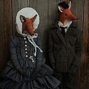 Куклы и игрушки handmade. Livemaster - original item Mr. and Mrs. Smith. Handmade.