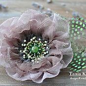 Украшения handmade. Livemaster - original item Flowers of my garden: Delicate rose. Handmade.