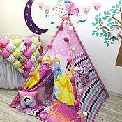 Вигвам ручной работы. Ярмарка Мастеров - ручная работа Вигвам домик и шалаш для детей. Handmade.