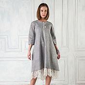 Одежда ручной работы. Ярмарка Мастеров - ручная работа Валяное платье Тонкий намек. Handmade.