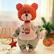 Куклы и игрушки handmade. Livemaster - original item The Tiger of Kesha. Symbol of the year 2022. Handmade.