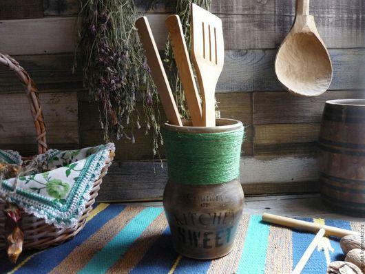 Кухня ручной работы. Ярмарка Мастеров - ручная работа. Купить Короб для кухни ,,Sweet kitchen,,. Handmade. Коричневый, ваза, для выпечки