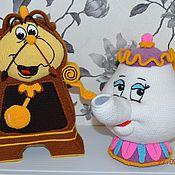 Мягкие игрушки ручной работы. Ярмарка Мастеров - ручная работа Миссис Поттс и Коксворд. Handmade.